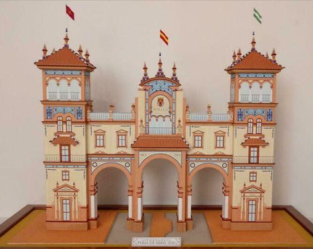 Obra del joven arquitecto sevillano Javier Navarro de Pablos, está inspirada en el Hotel Alfonso XIII, obra del arquitecto regionalista José Espiau